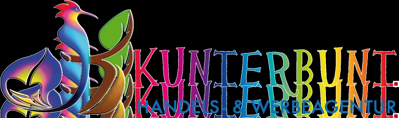 Kunterbunt Handels- & Werbeagentur Logo